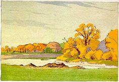 Walter J. Phillips (1884-1963) Fall, Assiniboine River, 1931