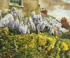 Stanley Spencer, Wisteria, 1940