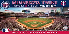 MasterPieces MLB Minnesota Twins Stadium Panoramic Jigsaw Puzzle, 1000-Piece ** READ MORE @ http://www.usefulcampingideas.com/store/masterpieces-mlb-minnesota-twins-stadium-panoramic-jigsaw-puzzle-1000-piece/?a=4673