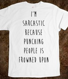 My kinda shirt.