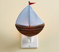 Sailboat Nightlight | Pottery Barn Kids