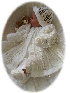 Baby Crochet Pattern 4 piece  HOLLY by GenekaCrafts on Etsy, $4.00