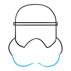 Learn to draw a stormtrooper helmet. This step-by-step tutorial makes it easy. Kids and beginners alike can now draw a great looking stormtrooper helmet. Learn To Draw, Disney Art, Easy Drawings, Helmet, Star Wars, Kid, Learning, Pen And Wash, Backgrounds