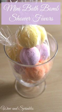 I love giving away bath supplies as Bridal Shower and Baby Shower Favors, they are always appreciated by the lovely ladies and can be DIY-ed very easily! I knew what I wanted to do, mini bath bomb trios as favors! Not only did I get to do a variety of colors and scents but they are small enough that you can add them to a foot bath or mix and match in a regular bath! An added bonus is that you can color these to your shower's theme!