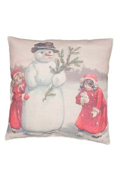 PRIMITIVES BY KATHY 'Build a Snowman' Pillow available at #Nordstrom