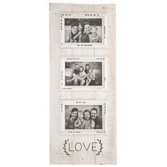 Get Love Wood Planks Collage Frame online or find other Collage Frames products from HobbyLobby.com