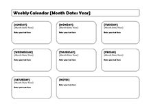 Printable Blank Calendar   FreePrintableCalendarNet