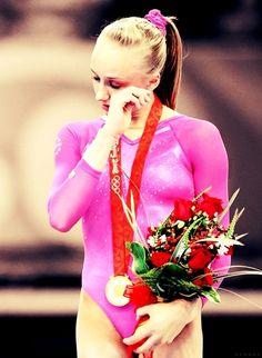 Nastia Liukin- all time BEST OLYMPIC CHAMPION. Beijing 2008