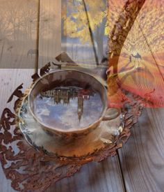 Tea - made by Dave L Walli with Bazaart #collage