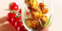 15 idées de recettes d'apéros délicieux pour une soirée réussie entre amis : vous allez adorer les popcakes aux lardons !