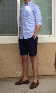 49 Perfect Men Casual Outfit with Shorts To Look Classy - Artbrid - Summer Outfits Men, Stylish Mens Outfits, Short Outfits, Casual Outfits, Summer Men, Beach Outfits, Smart Casual Wear, Men Casual, Casual Styles