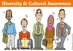 Diversity and Cultural Awareness Cartoon | Effort to become more aware about the diversity of people around you, or the cultural breadth that prevails in your team or your organization as a whole, is built upon an open-minded attitude and a willingness to accept that the journey towards greater enlightenment is valuable and worthwhile in the first place.