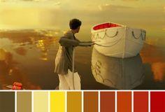 As paletas de cores do cinema Famous Movie Scenes, Famous Movies, Iconic Movies, Movie Color Palette, Colour Pallette, Horror Picture Show, Rocky Horror Picture, Cinema Colours, Color In Film
