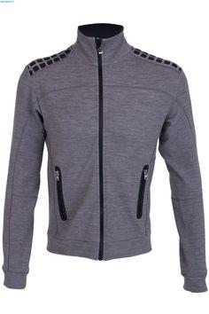 Bogner Men Fabio Mid Layer Jacket - Grey
