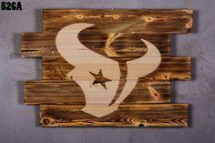 Houston Texans Wood Sign boyfriend gift houston by LOLALIWOOD