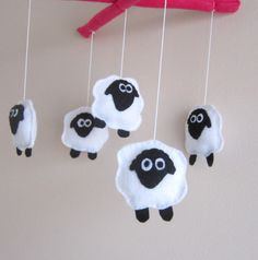 Better version was the felt sheep suspended off of a branch...  @Andy Cottle
