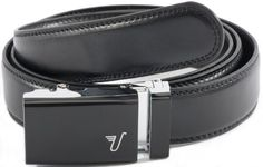 """Mission Belt Men's Black Leather Ratchet Belt - Medium - The Black Belt Mission Belt. $34.95. Buy a Belt, Feed a Family - A DOLLAR from every belt goes to fight global hunger - Thanks for being a part of The Mission!. Nike. Genuine Leather - 1.25"""" wide, smooth black leather with no needless holes to crack or wear out. A Perfect Fit Every Time - Scratch resistant, black metal ratchet buckle and 1/4"""" spaced teeth in leather adjusts to the exact size you need. Re..."""