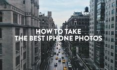 How to take the best iPhone photos. This is definitely a must read for all owners with an iPhone and want to take professional looking pictures with a few apps :)