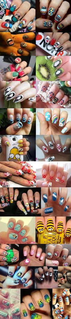 27 Cutest, Most Amazing Nail Arts lt;3 Love It!
