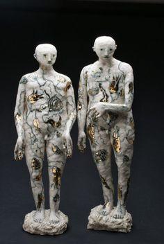 Claire Curneen Sculpts Tormented Porcelain Figures