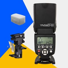 Yongnuo YN560 III Wireless Camera Speedlite YN560III YN560-III Universal Flash For Canon Nikon Sony Pentax With B-type Bracket
