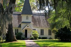 Christ Church on St. Simons... where we used to go every summer at church camp for communion... love this place.
