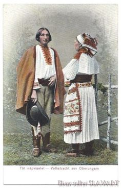 POSTCARD rare old Slovak peasant couple Cicmany folk costume colored photograph Folk Costume, Costumes, Victor Nizovtsev, Old Postcards, Traditional Outfits, Photograph, Hipster, Ancestry, Couples