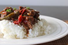 PicNic: Slow Cooker Pepper Steak