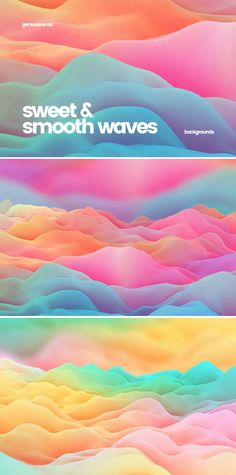 Sweet Smooth Waves Backgrounds Background Images Wallpapers, Backgrounds, Waves Background, Smooth, Templates, Abstract, Sweet, Design, Background Pics