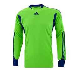 35.99 adidas Youth Campeon 11 Goalkeeper Jersey - Green 8a814e118bc