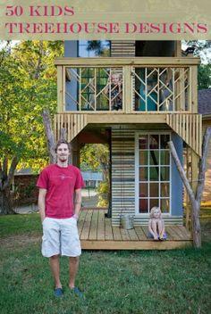 I want a treehouse so bad!