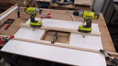 Router Table and Fence : 12 Steps (with Pictures) - Instructables Making A Router Table, Homemade Router Table, Router Table Top, Router Table Fence, Router Table Plans, Router Saw, Router Lift, Wood Router, Router Woodworking