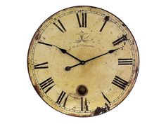 Large Wall Clock with Pendulum. $69 #clock #walldecor #homedecor #rustic #applcenter #Maumee #ohio