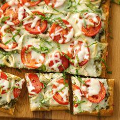 Chicken Pesto Pizza from Pillsbury® Artisan Pizza Crust Recipe ...