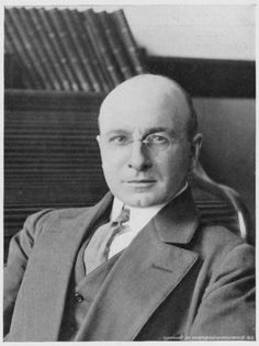"""Alexis Carrel (1873-1944), French surgeon and biologist. """"[for] his work on vascular suture and the transplantation of blood vessels and organs"""""""
