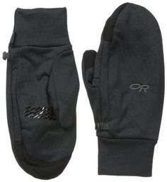 Outdoor Research Men's Pl 400 Sensor Mitts, Black, Small