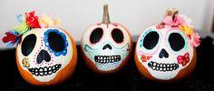 Dias de la Muertos pumpkins wildheartwhispers