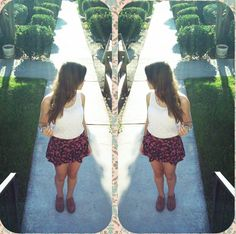 Summer 2014 outfit :)  Shorts from Kohls // top from Hollister // shoes from Sears