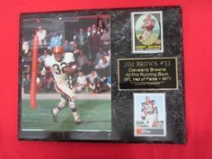 Jim Brown Cleveland Browns Plaques