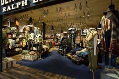 Denim & Supply Ralph Lauren store in Malmo, Sweden.