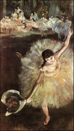 degas - dançarina com bouquet.jpg 407×720 pixels