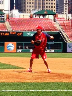 Puma sighting working out at Busch 8/23/12