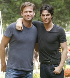 Alaric & Damon:  Epic, forever, beyond-the-grave bromance....