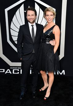 "Charlie Day and Mary Elizabeth Ellis arrive at the premiere of Warner Bros. Pictures' and Legendary Pictures' ""Pacific Rim"" at Dolby Theatre on July 9, 2013 in Hollywood, California."
