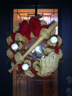 baseball wreath - Google Search