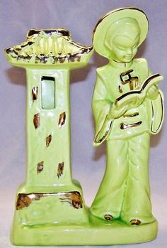 Items similar to Vintage Kreiss & Company Candle Holder or Lantern on Etsy Chinese Figurines, Grandmothers Love, Kitsch, Lanterns, Mid-century Modern, Retro Vintage, Candle Holders, Asian, Candles