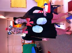 Cat in the Hat Dr. Seus Birthday Party