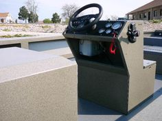 boat forum best boat steering for centre console - Google Search