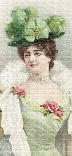 pictures of victorian ladies   Victorian Glove Box Ladies Set 7431-Vintage, Victorian, Ephemera ...