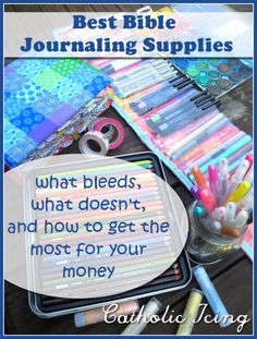 Bible Journaling Supplies {The Ultimate Guide!!!}